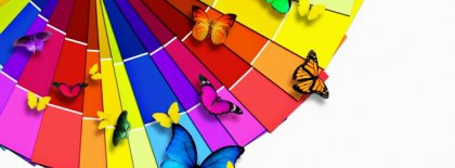 Magnificent Colorful Butterfly Fb Cover Facebook Covers