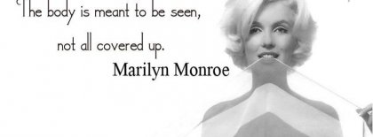 Marilyn Monroe Fb Cover Facebook Covers