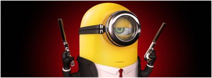 Minion Hitman Cover Facebook Covers