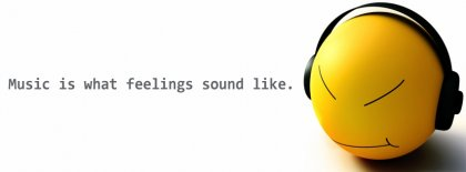 Music Is What Feeling Sound Alike Facebook Covers