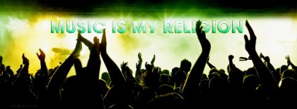 Music Is My Religion Fb Cover Facebook Covers