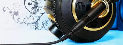 Musical Headphone Fb Cover Facebook Covers
