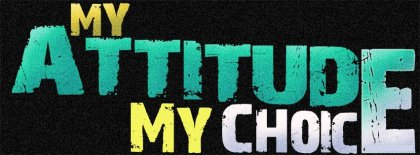 My Attitude My Choice Facebook Covers