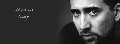 Nicolas Cage Cover Facebook Covers