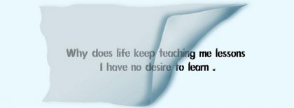 No To Desire To Learn Fb Cover Facebook Covers