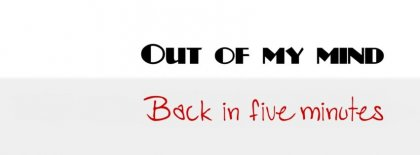 Out Of My Mind Facebook Covers