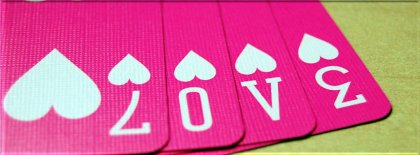 Pink Love Cards Facebook Covers