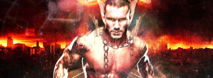 Randy Orton Flaming Cover Facebook Covers