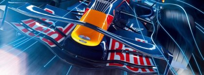 Red Bull Car Facebook Covers