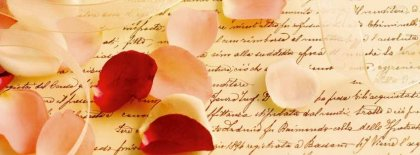 Rose Petals Facebook Covers