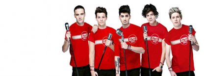 Sport Relief One Direction Facebook Covers