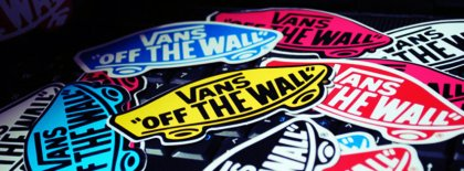 Sticker Vans Facebook Covers