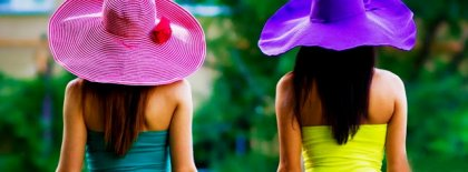 Summer With Cool Hat Fb Cover Facebook Covers