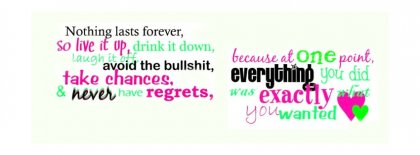 Take Chances Facebook Covers