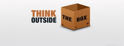 Thing Outside The Box Facebook Covers