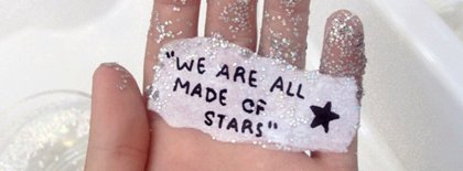 We Are All Made Of Stars Facebook Covers