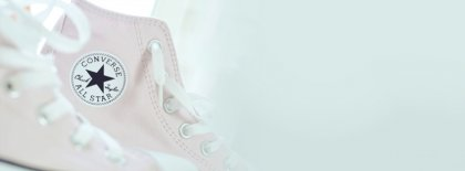 White Converse Facebook Covers