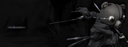 Anime Afro Samurai Jinnosuke Jinno Kuma Facebook Covers