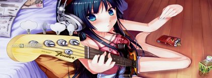 Anime Facebook Covers Bassist Facebook Covers