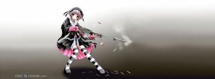Anime Girl Yuki Nagato Facebook Covers