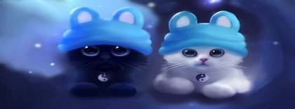 Taichi Cats Facebook Covers Facebook Covers