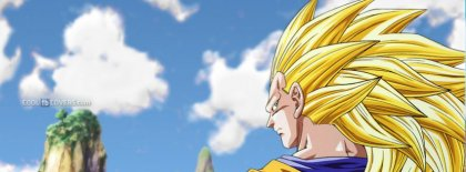 Dragon Ball Z 4 Anime Facebook Covers