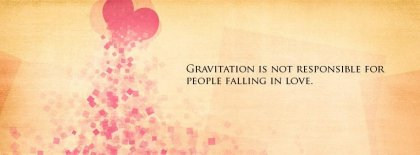 Falling In Love Facebook Covers