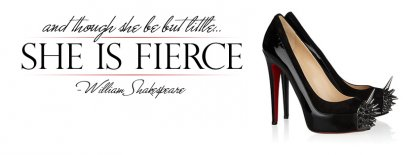Fierce Louboutins Facebook Covers