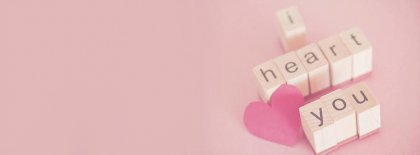 I Heart You Facebook Covers