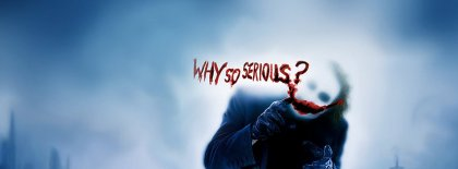 Joker Why So Serious Facebook Covers