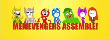 Memevengers Meme Fb Cover Facebook Covers