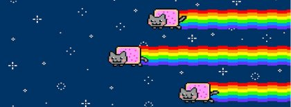 Nyan Cat Meme Fb Cover Facebook Covers