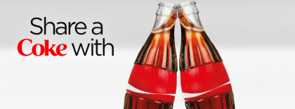 Share A Coke 2 Bottles Facebook Covers