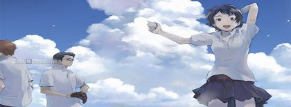 The Girl Who Leapt Through Time Makoto Anime Facebook Covers