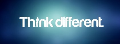 Think Different Facebook Covers